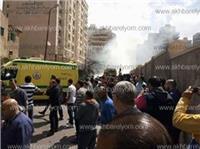عاجل| التحفظ على كاميرات المراقبة في حادث «انفجار الإسكندرية»