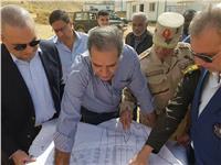 نائب وزير الإسكان يتفقد مشروعي الأسمرات 3 والشهبة لتطوير المناطق غير الآمنة