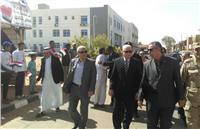 «فودة» يتفقد اللجان الانتخابية بأبو رديس وأبو زنيمة