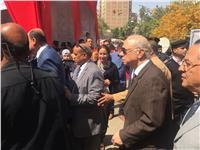 محافظ القاهرة يتفقد لجان الانتخابات الرئاسية بروض الفرج