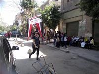 مصر تنتخب| وصلة رقص على أنغام «معاك يا سيسي» بلجان منشأة ناصر