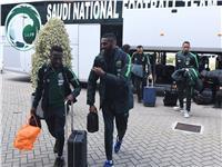 صور  المنتخب السعودي يصل بروكسل لمواجهة بلجيكا غدًا