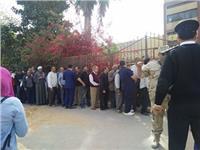 فتح اللجان الانتخابية بعد راحة القضاة بالهرم