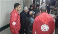 «الهلال الأحمر» بالمنيا يقدم الإسعافات الأولية للمواطنين في الانتخابات الرئاسية