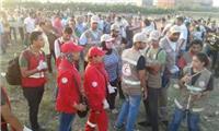 مصر تنتخب| الهلال الأحمر يشارك في الانتخابات بمنطقة روض الفرج