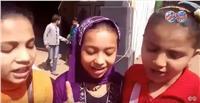 مصر تنتخب| فيديو.. أطفال أوسيم ينشدون الشعر أمام اللجان الانتخابية