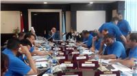 غرفة عمليات البحر الأحمر تتابع الانتخابات الرئاسية في يومها الثاني