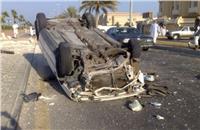 «الصحة»: وفاة مواطن وإصابة 21 في انقلاب سيارة بالإسماعيلية