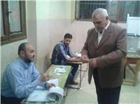 مصر تنتخب| والد الشهيد «خالد دبابة»: انتخبت السيسي عشان حق ابني