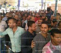 مصر تنتخب| المئات من عمال فوسفات ابو طرطور يدلون بأصواتهم بالانتخابات الرئاسية