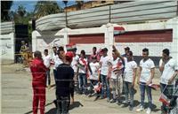 مصر تنتخب| مسيرة طلابية بطنطا لحث المواطنين على المشاركة