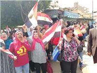 مصر تنتخب| إقبال كثيف من السيدات وكبار السن بلجان شبرا