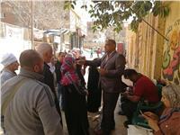 مصر تنتخب| إقبال كبير على لجان المرج والموظفين يتصدرون المشهد