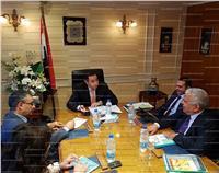 وزير قطاع الأعمال العام يتابع موقف مشروع التوسعات الجديدة بشركة مصر للألومنيوم