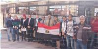 مصر تنتخب| 13 سيارة تنقل الطلاب بجامعة الإسكندرية للجان الانتخابات