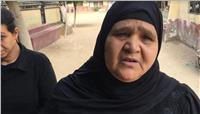 مصر تنتخب  والدة شهيد كنيسة مارجرجس: انتخبت السيسي لاستكمال مسيرة الأمان
