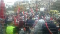 مواطنون أمام لجان شبرا: «مسلم مسيحي إيد واحدة ضد الإرهاب»