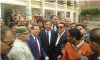 مصر تنتخب| محافظ الغربية يتفقد اللجان الانتخابية بالسنطة