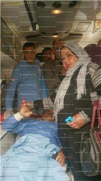 مصر تنتخب| مريض بالعناية المركزة يدلي بصوته في دمياط