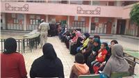 مصر تنتخب| استمرار توافد الناخبون على اللجان بالفيوم