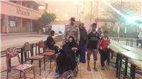 مصر تنتخب| عجوز تُدلي بصوتها متحدية سوء المُناخ بالفيوم