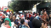 مصر تنتخب| إقبال الناخبين على التصويت رغم سوء المُناخ بشبرا