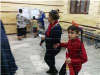 مصر تنتخب| توافد العشرات على لجان المرج رغم العاصفة الترابية
