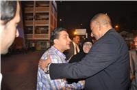 مصر تنتخب| إقبال كثيف بـ«أم الأبطال» رغم سوء الأحوال الجوية