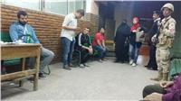 مصر تنتخب | استمرار توافد الناخبين رغم سوء الطقس
