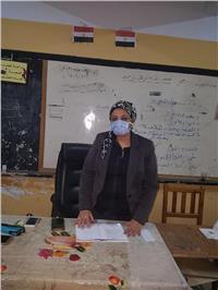 مصر تنتخب| رئيسة لجنة انتخابية بحدائق القبة تشكر وزارة الصحة