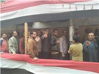 مصر تنتخب| زيادة الإقبال على لجنة معهد الصحافة