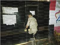 مصر تنتخب| بالصور..غلق أبواب اللجان الانتخابية بالمرج
