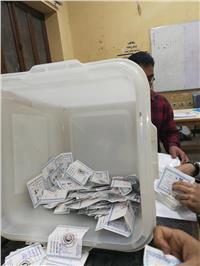 النتائج الأولية للانتخابات  نتيجة فرز أصوات الناخبين بمدرسة السيدة خديجة بالمطرية