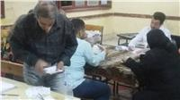 النتائج الأولية للانتخابات  لجنتي 44 و45 بالمطرية: 2519 صوتا للسيسي و92 لموسى