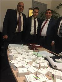 جمارك مطار القاهرة تحبط محاولة تهريب أدوية تثبيت حمل
