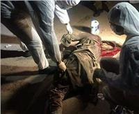 المئات من أهالي قنا يشيعون جثمان ضحية الصاروخ الباليستي بالسعودية