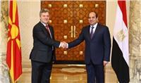 رئيس مقدونيا يهنئ السيسي بإتمام الانتخابات الرئاسية بنجاح