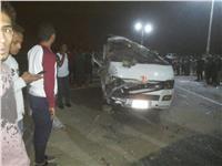 إصابة 9 ركاب في إنقلاب سيارة أجرة بالأقصر