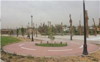 حدائق محور جمال عبدالناصر بـ6 أكتوبر تتجمل لاستقبال أعياد الربيع
