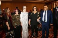 صور| إيهاب توفيق وطارق علام وحساسين يحتفلون بعقد قران نجل أحمد فضالي