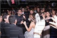 صور| عاصي الحلاني يُغني وجوهرة ترقص بزفاف «حسن وندا»