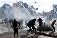 98 إصابة خلال مواجهات مع الاحتلال الإسرائيلي أمام جامعة القدس بأبوديس