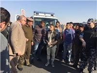 ضبط 5 أسلحة نارية و9 تجار مخدرات في حملة أمنية بالقليوبية