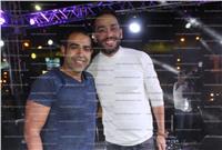 صور  عدوية ورامي جمال يحتفلان بفوز السيسي بالولاية الثانية