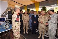 وزير الدفاع يشهد الجلسة الافتتاحية للمؤتمر الدولي العلمي التاسع للكلية الفنية