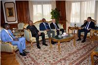 وزير الطيران المدني يستقبل أعضاء المكتب التنفيذي لمنظمة «الأفكاك»