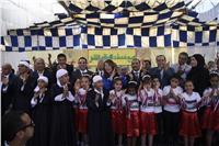 بالصور  غادة والي تفتتح مركز رعاية أطفال التوحد بالمطرية
