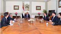 السيسى يؤكد تطلع مصر لتعزيز التعاون مع شركة «فيزا» العالمية