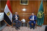 عشماوي يبحث مع السفيرالإذربيجاني سبل التعاون المشترك