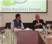 رئيس مصلحة الجمارك وسفير الهند بالقاهرة يلتقيان بمنتدى الأعمال